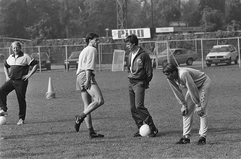 Cruijff allenatore dell'Ajax