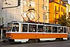 Tram in Sofia mear Macedonia place 2012 PD 036.jpg