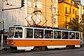 Tram in Sofia mear Macedonia place 2012 PD 036.jpg
