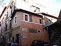 Trastevere - casa medoevale a vicolo della Luce 1508.JPG