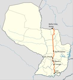 Ruta 8 Paraguay Wikipedia La Enciclopedia Libre