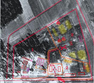 Treblinka II aerial photo (1944)