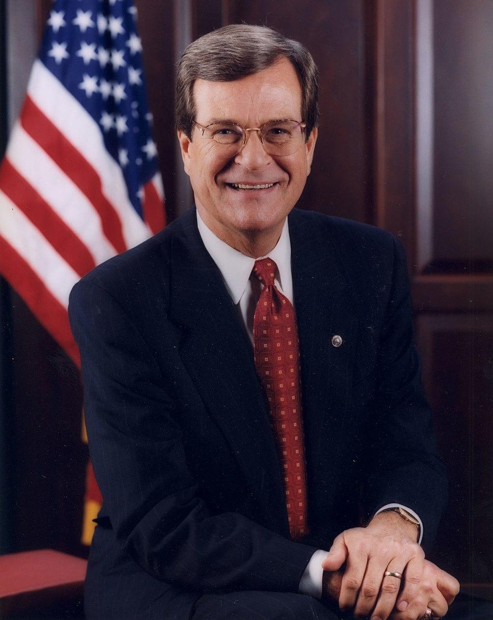 Trent Lott official portrait