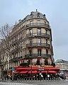 Triadou Haussmann, boulevard Haussmann, rue de Rome, Paris 8e.jpg
