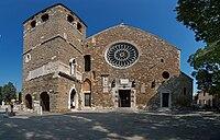 Trieste Cattedrale di San Giusto frontside.jpg
