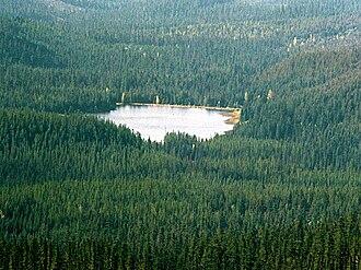 Trillium Lake - Image: Trillium Lake Oregon 2