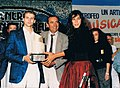 Trofeo Musica solare con Raul Casadei e Mirca Viola.JPG