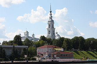 Kineshma - View of Kineshma from the Volga