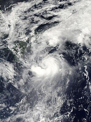 Tropical Storm Etau (2009) - Image: Tropical Storm Etau 2009 08 10