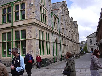 John Passmore Edwards - Image: Truro Library And Technical School Building