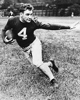 Tuffy Leemans Player of American football