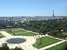tuileries garden panorama - Tuileries Garden