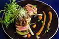 Tuna dish at SixSenses Kitchen, Yogyakarta, 2016-01-25.jpg