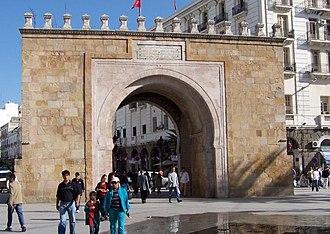 Bab el Bhar - The gate in 2005