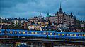 Tunnelbana & Stockholm Skyline (15925503541).jpg