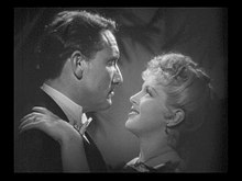 Spencer Tracy y Lana Turner en 1941 en a cinta Dr. Jekyll and Mr. Hyde.