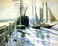 Twachtman约翰·冬季告士打道Harbor.jpg