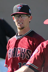 Tyler Clippard jako zawodnik Arizona Diamondbacks.