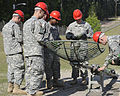 U.S. Soldiers train to assemble and erect an antenna at Fort Gordon, Ga., April 17, 2009 090417-A-NF756-005.jpg