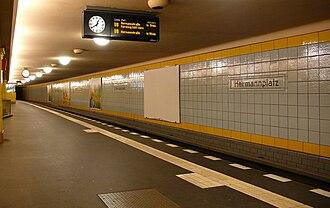 Hermannplatz (Berlin U-Bahn) - Platform of the U8