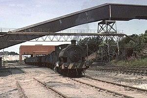 Agecroft Power Station - Image: UK Agecroft Power Station RSH 0 4 0ST 1976