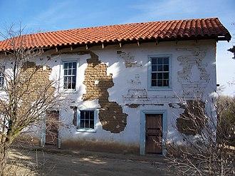 San Miguel, San Luis Obispo County, California - Image: USA San Miguel Rios Caledonia Adobe 5