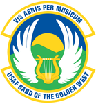 USAF Band of the Golden West emblem.png