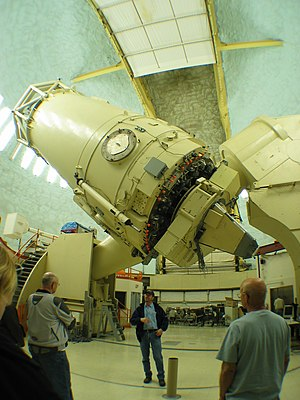 Optical telescope - Harlan J. Smith Telescope reflecting telescope at McDonald Observatory, Texas