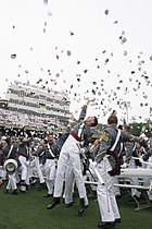 USMA Graduation Hat Toss 2008