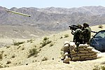 USMC Stinger launch at Twentynine Palms July 2001.jpg