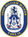 USNS William McLean T-AKE-12 Crest.png