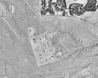 Victorville, California - The penitentiary site as seen in 1994