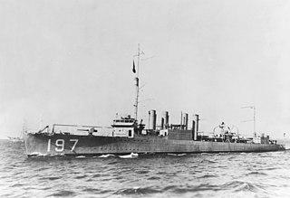 USS <i>Branch</i> (DD-197)