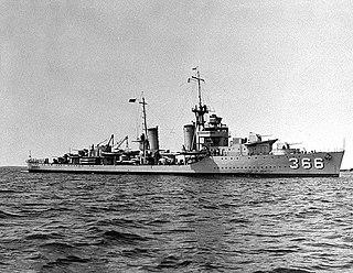USS <i>Drayton</i> (DD-366) WWII US destroyer