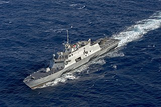 USS <i>Fort Worth</i> Freedom-class littoral combat ship of the US Navy