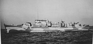 USS <i>PGM-1</i> American motor gunboat