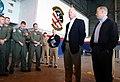 US Navy 040416-N-5821W-001 Georgia Senator Saxby Chambliss and Alabama Senator Jeff Sessions talk to Sailors.jpg
