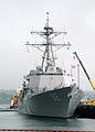 US Navy 070220-N-8870B-003 Arleigh Burke-class guided missile destroyer USS Momsen (DDG 92), homeported at Naval Station Everett, prepares to get underway as part of scheduled operational workups.jpg
