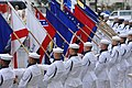 US Navy 070731-N-3642E-201 The Navy Ceremonial Honor Guard renders honors during the National Anthem for the commencement of the Navy District Washington's Concert on the Avenue.jpg
