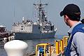 US Navy 070801-N-9134V-092 USS Carr (FFG 52) departs Naval Station Norfolk, as part of the Kearsarge Expeditionary Strike Group (ESG) for a scheduled deployment.jpg