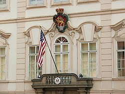 US embassy Prague eagle lion 2849.JPG