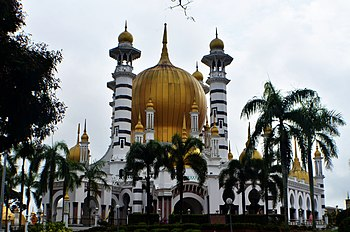 Ubudiah Mosque.The Ubudiah Mosque is Perak's royal mosque and is located in the royal town of Kuala Kangsar.