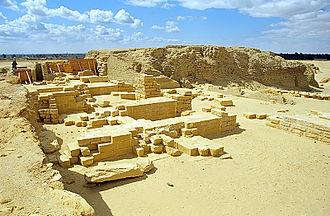 Faiyum - Image: Umm Atl Temple 1