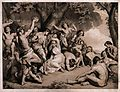 Una Alarmed by Fauns lithograph.jpg