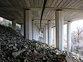 Underneath the A9 at Killiecrankie - geograph.org.uk - 281609.jpg