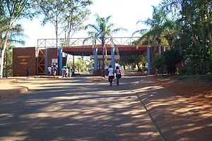University of Venda - Entrance to the University of Venda