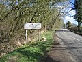 Unusual welcome to Northamptonshire - geograph.org.uk - 145069.jpg