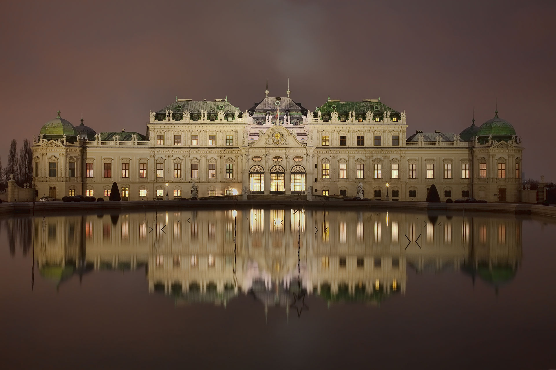 Бельведер. Дворцовый комплекс в Вене