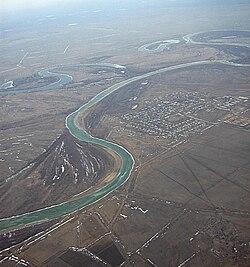 Урал река Википедия Река Урал между Уральском и Атырау Казахстан