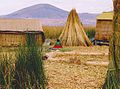 Uros old woman on island in Peru.jpg